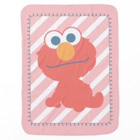 Elmo Baby Sitting Receiving Blankets
