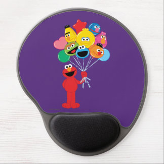 Elmo Balloons Gel Mouse Pad