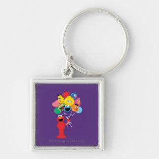 Elmo Balloons Key Chain