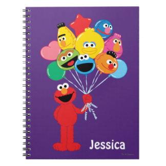 Elmo Balloons Notebook