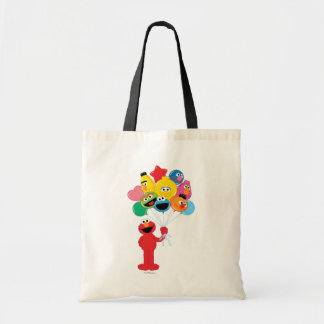 Elmo Balloons Tote Bag