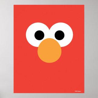 Elmo Big Face Poster