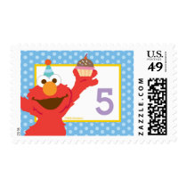Elmo Birthday Postage