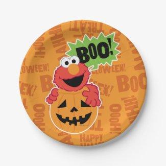 Elmo - Boo 7 Inch Paper Plate