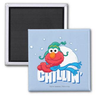 Elmo Chillin' Magnet