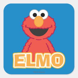 Elmo Classic Style Square Sticker