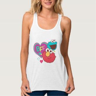 Elmo & Cookie Monster - BFF Tank Top
