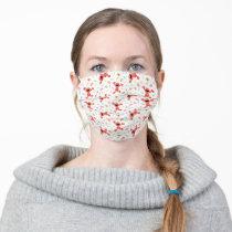 Elmo Crayon Pattern Adult Cloth Face Mask
