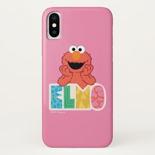 Elmo Cute & Fun iPhone X Case