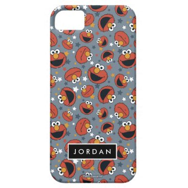 Elmo | Elmo Rules Star Pattern | Add Your Name iPhone SE/5/5s Case