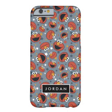 Elmo | Elmo Rules Star Pattern | Add Your Name Barely There iPhone 6 Case