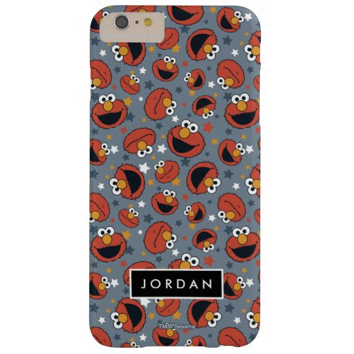 Elmo | Elmo Rules Star Pattern | Add Your Name Barely There iPhone 6 Plus Case