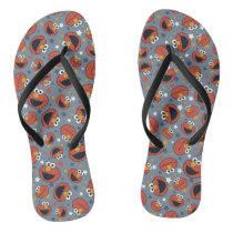 Elmo | Elmo Rules Star Pattern Flip Flops