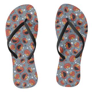 Elmo | Elmo Rules Star Pattern Flip Flops