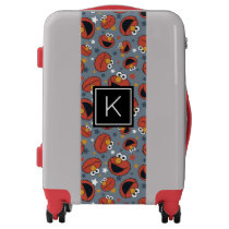 Elmo | Elmo Rules Star Pattern | Monogram Luggage