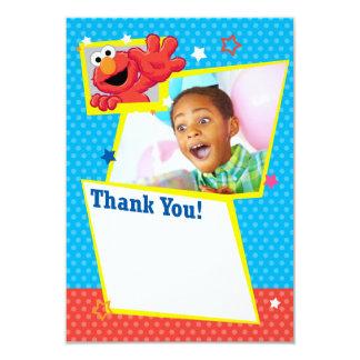 """Elmo extremo adaptable le agradece invitación 3.5"""" x 5"""""""