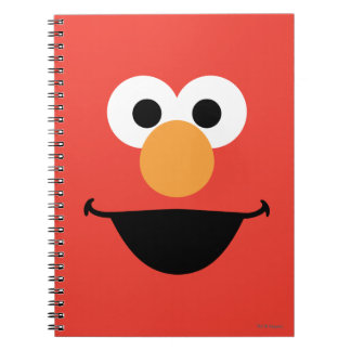 Elmo Face Art Notebook