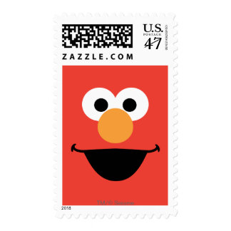 Elmo Face Art Postage