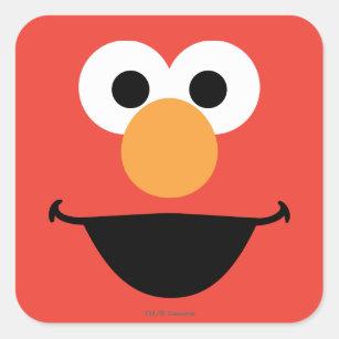 Elmo Face Stickers | Zazzle