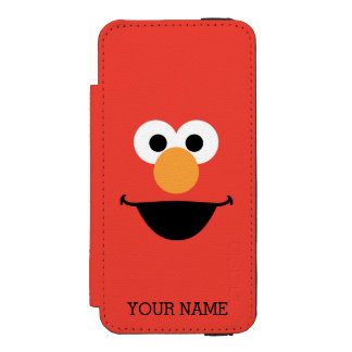 Elmo Face Art Wallet Case For iPhone SE/5/5s