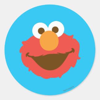 Elmo Face Classic Round Sticker