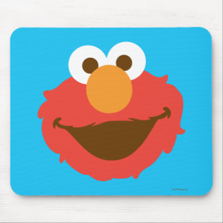 Elmo Face Mouse Pad