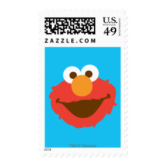 Elmo Face Postage Stamps