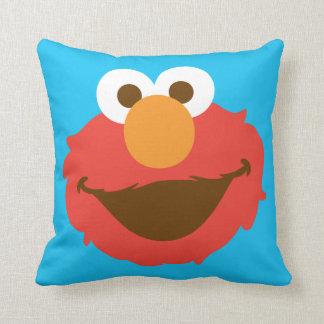 Elmo Face Throw Pillow