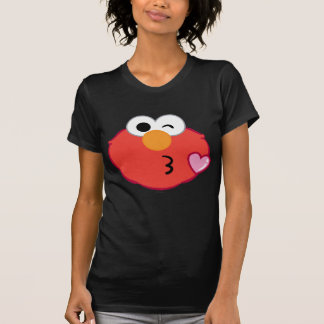 Elmo Face Throwing a Kiss Shirt