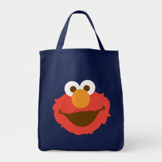 Elmo Face Tote Bag