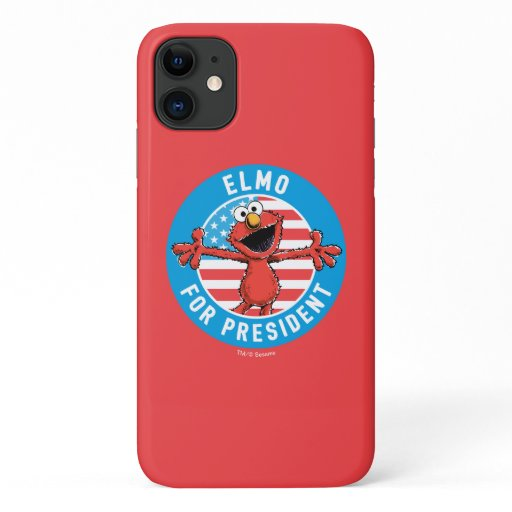 Elmo for President - Flag iPhone 11 Case