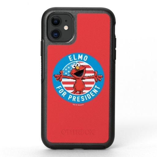 Elmo for President - Flag OtterBox Symmetry iPhone 11 Case