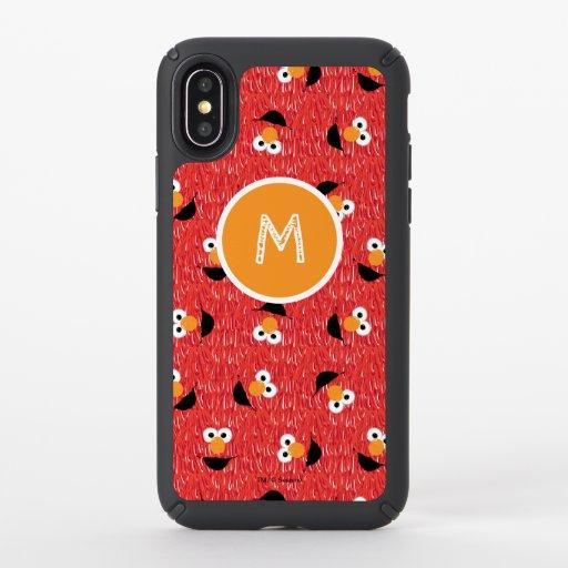 Elmo Fur Face Pattern Speck iPhone X Case