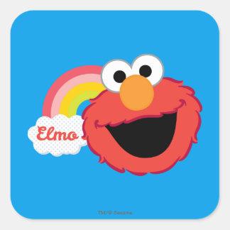 Elmo Girl Square Sticker