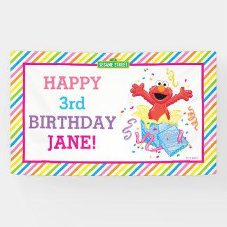 Elmo Girl's Birthday Banner