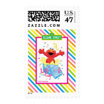 Elmo Girl's Birthday Postage