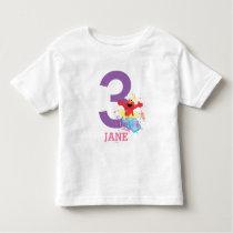 Elmo Girl's Birthday Toddler T-shirt