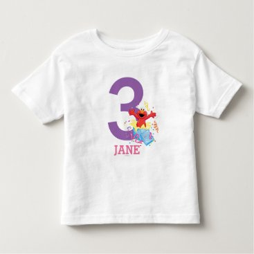 birthday Elmo Girl's Birthday Toddler T-shirt