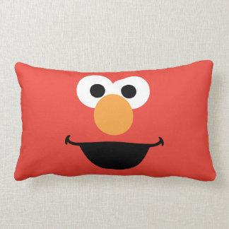Elmo hace frente a arte cojin