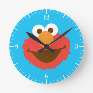 Elmo hace frente reloj redondo mediano