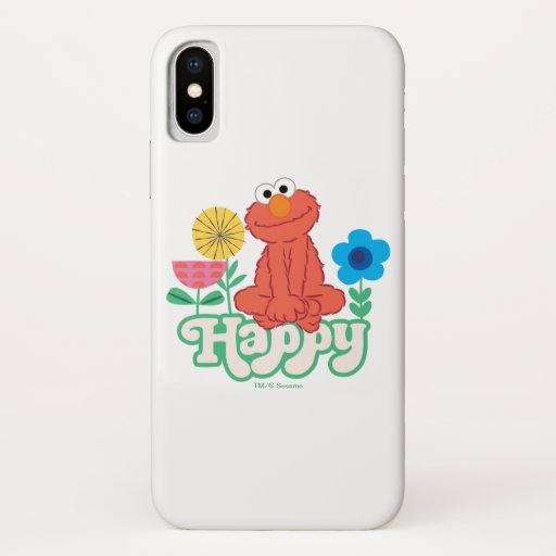 Elmo Happy! iPhone X Case