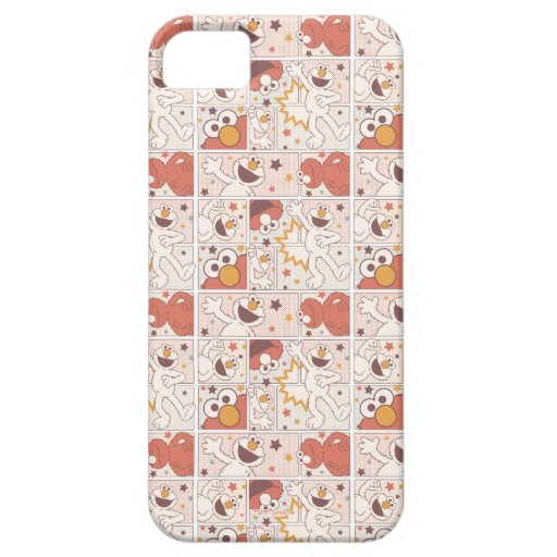 Elmo | Happy Little Monster Comic Pattern iPhone SE/5/5s Case