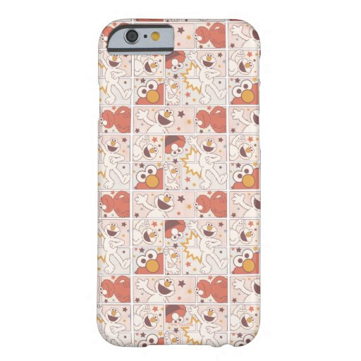 Elmo | Happy Little Monster Comic Pattern Barely There iPhone 6 Case