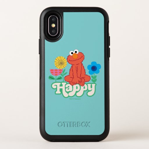 Elmo Happy! OtterBox Symmetry iPhone X Case