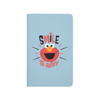 Elmo Happy Smile Journal