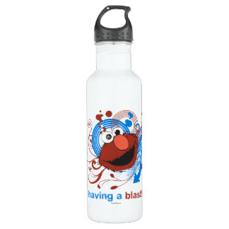 Elmo - Having A Blast! Stainless Steel Water Bottle