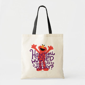 Elmo Hugging Tote Bag