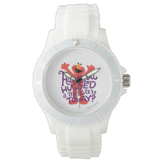 Elmo Hugging Wrist Watch
