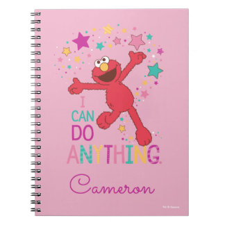 Elmo   I Can Do Anything Notebook