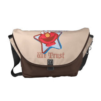 Elmo - In Monsters We Trust Courier Bag